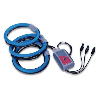 3-fazowe elastyczne cęgi prądowe 3000/300/30 A / 1 V A 1257